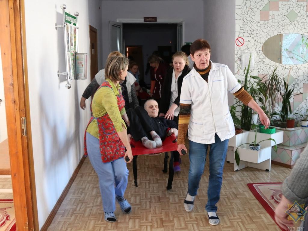 Витебский интернат для престарелых физкультура в домах престарелых