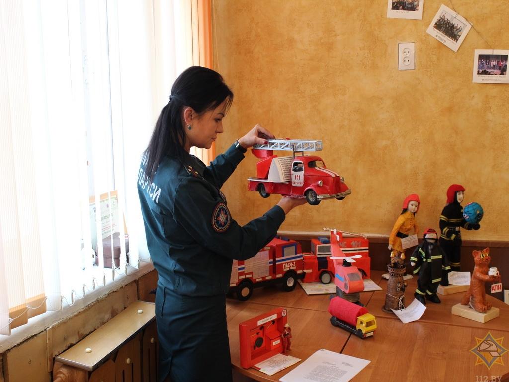 Как дети видят борисовских спасателей и их работу? (фото) 6