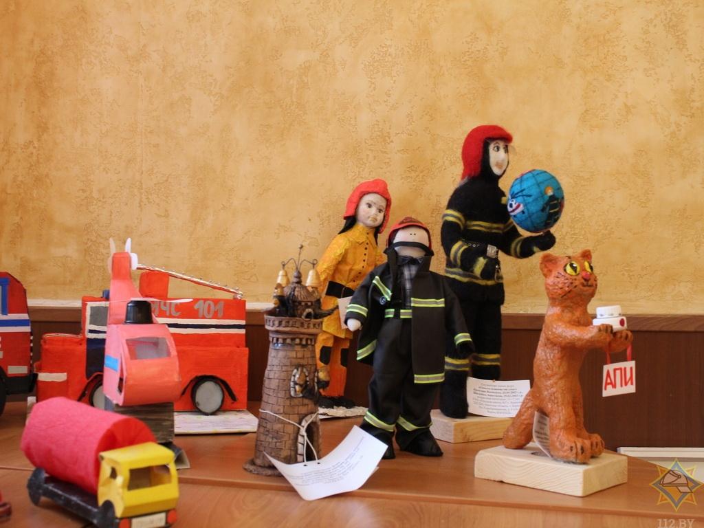 Как дети видят борисовских спасателей и их работу? (фото) 2