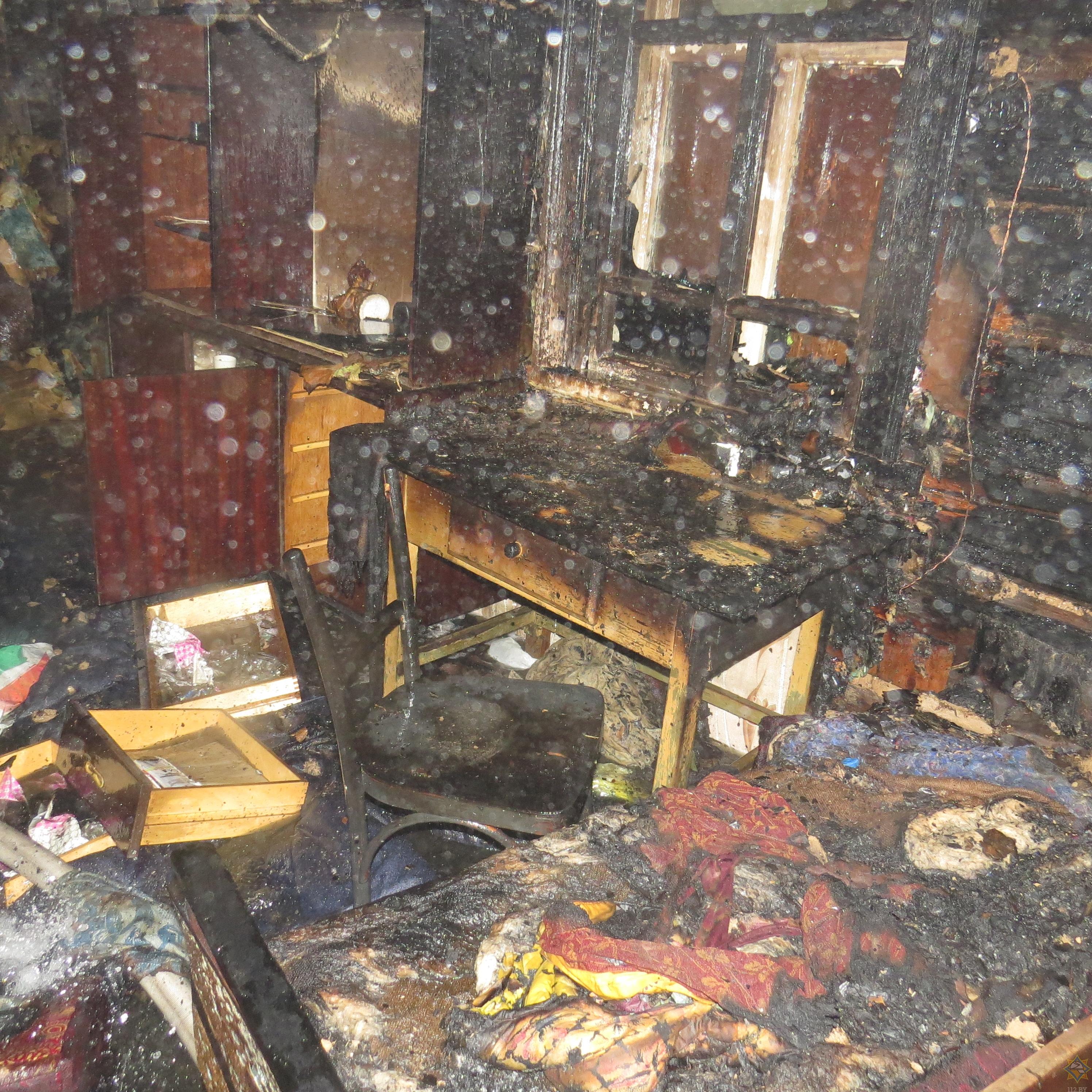 В Борисове из горящего дома спасли мужчину (фото) 3
