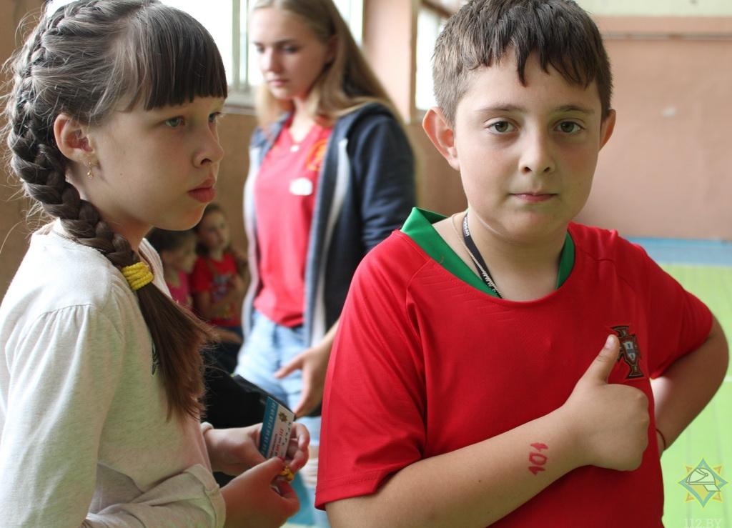 В Борисове прошел деткий праздник безопасности