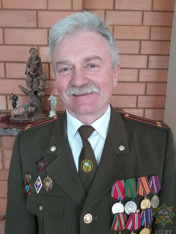 Ветеран пожарной службы из Борисова делится своей историей