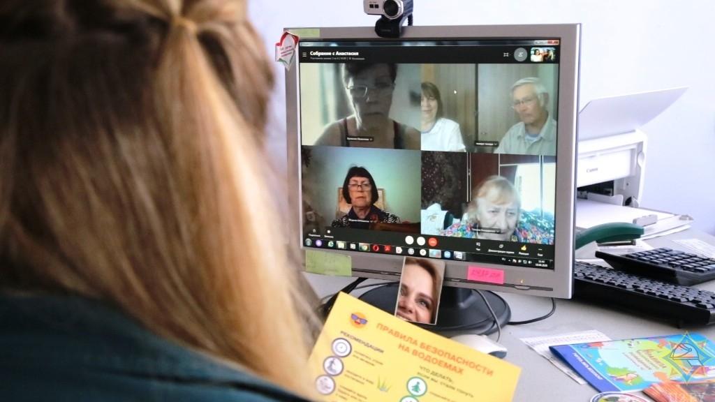 Уроки безопасности онлайн для студентов золотого возраста (г.Жодино)