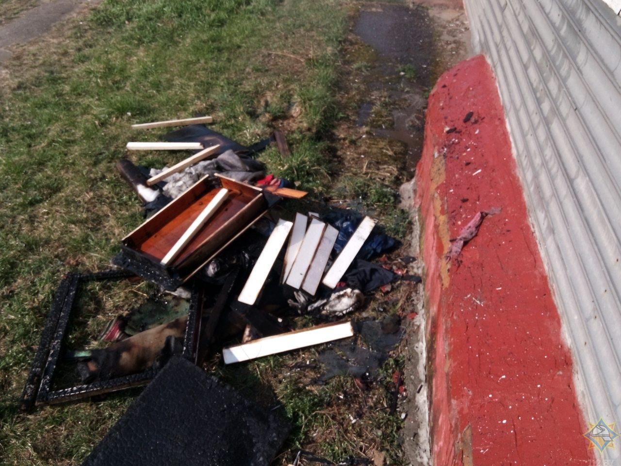 Борисовчанин пострадал при тушении собственного балкона 2